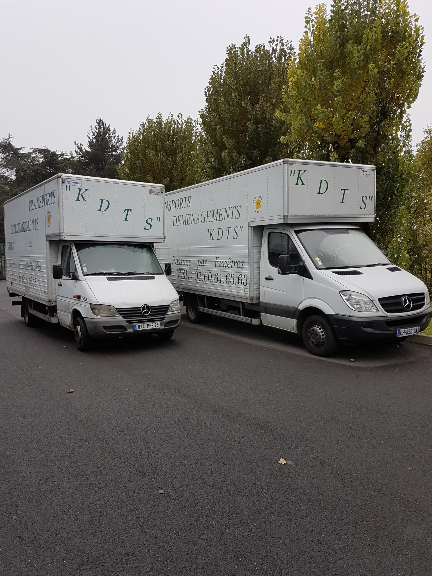 Déménagements KDTS - Matériel camions